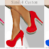 High Heels || Shoe || Female || Mesh || New 3 Colors || The Sims 4