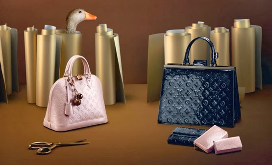 Louis Vuitton el arte de regalar bolsos