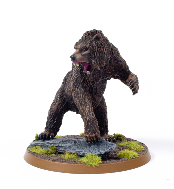 showcase beorn bear and man from the hobbit video and