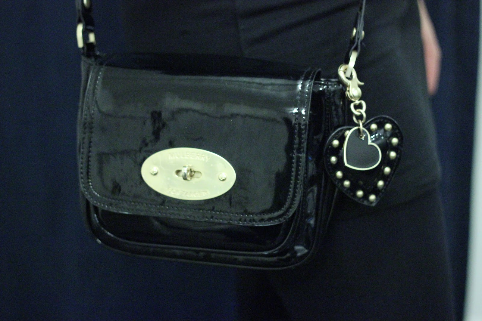 Mulberry for Target Patent Cross Body