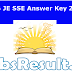 RRB JE SSE Answer Key 2015 August Junior Engineer Exam Solution
