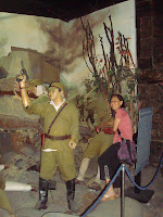 with the japanese soldiers in Subic museum