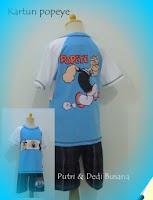 baju kartun popeye