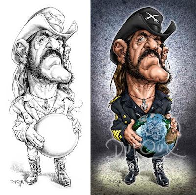 """Lemmy Kilmister"" por Santiago Dufour"