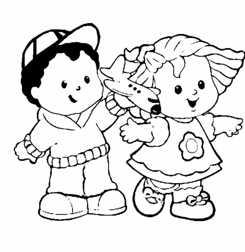 bambini disegni da colorare