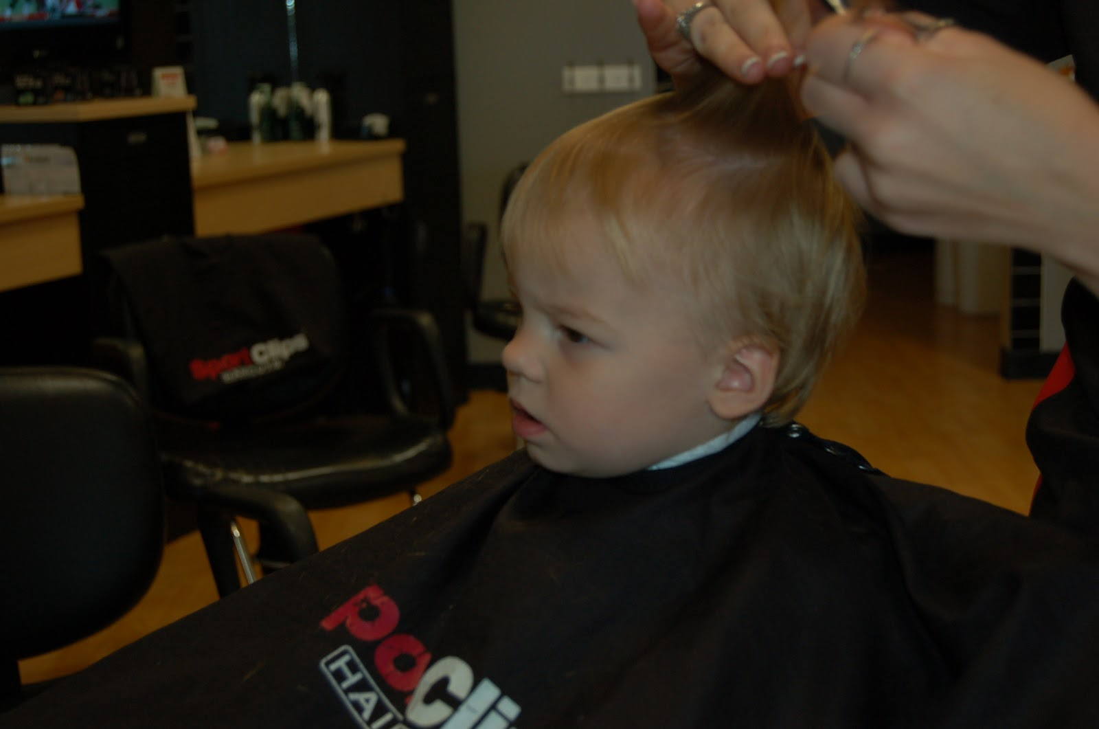 The Siureks Wills First Haircut