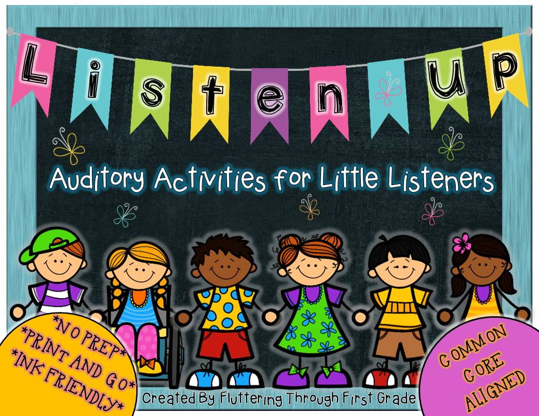 http://www.teacherspayteachers.com/Product/Listen-Up-Common-Core-Auditory-Activities-for-Little-Listeners-1049889