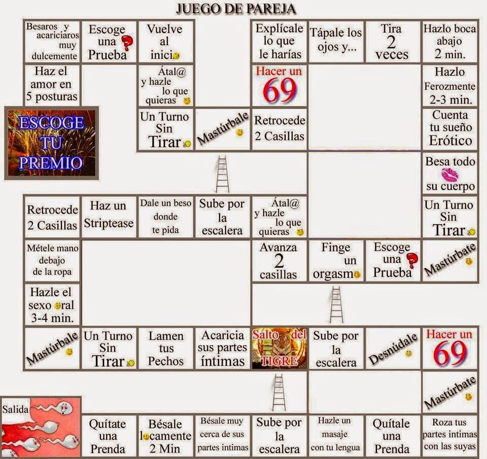 Juegos - juego de mesa ertico La oca - Sexo para parejas