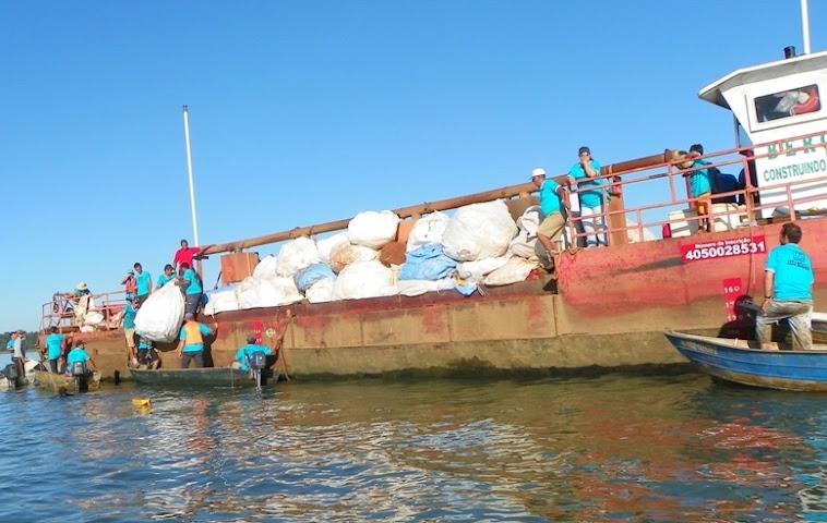 Limpeza do Rio Grande 2012