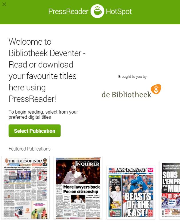 Bieblog deventer kranten uit de hele wereld te lezen in de bibliotheek - Te creeren zijn bibliotheek ...