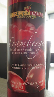 Label photo of Muskoka Lakes Winery Framberge dessert wine