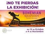 """Exhibición vestuario y fotos de """"Bohemian Rhapsody"""" Oasis Coyoacán 12 Oct al 4 Nov CdMx"""