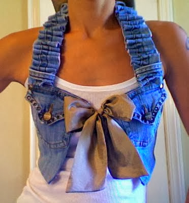 The art of up cycling upcycled clothing ideas reinvent for Jeans upcycling ideas