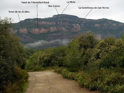 Panoràmica des del Camí de Castellar del Vallès a la Mola