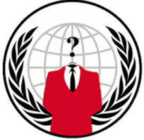 anonymous hacker group logo, anonymous logo