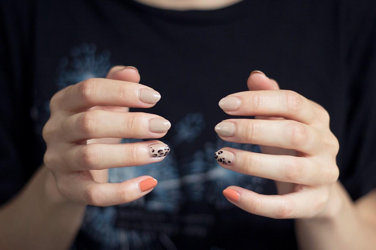 lepoard manicure