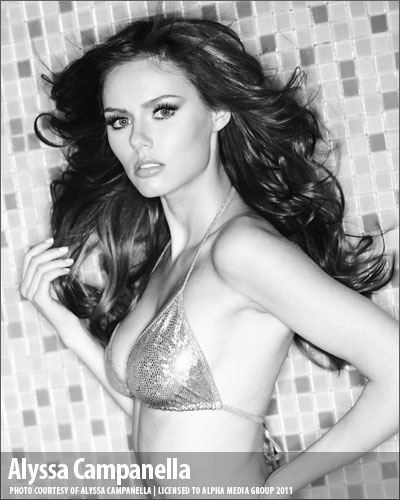 Alyssa Campanella Miss USA 2011 for Maxim