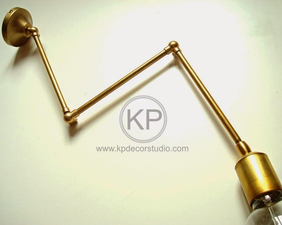 Apliques articulado decoración. Tienda de lamparas, flexos y apliques de pared online en valencia.