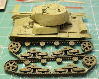 T-26 conical turret stamped mask sloped armor mod 1939