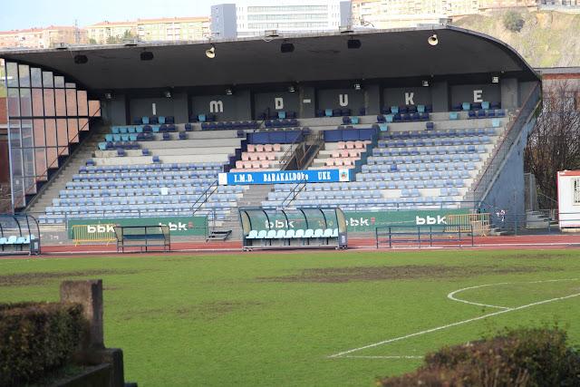 Tribuna de la ciudad deportiva de San Vicente