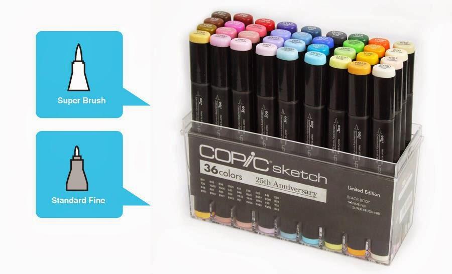 Leuke Candy die je kan winnen op het Copic Benelux blog!