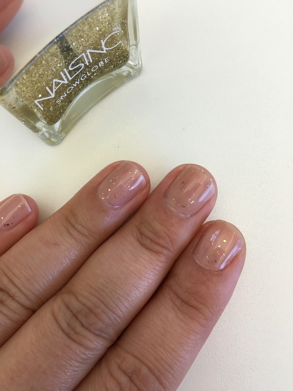Beauty By Benz: Adult Glitter Fun With Nails Inc