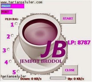 Inject telkomsel AS JB Squid New Bug Jatim