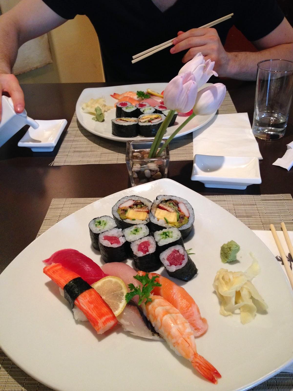 Shiki Sushi + Local Macaroons