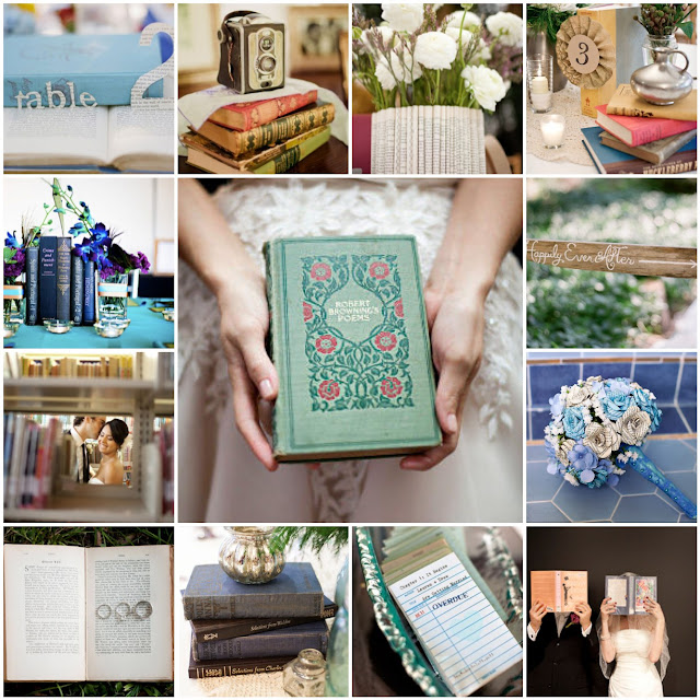 literature book wedding