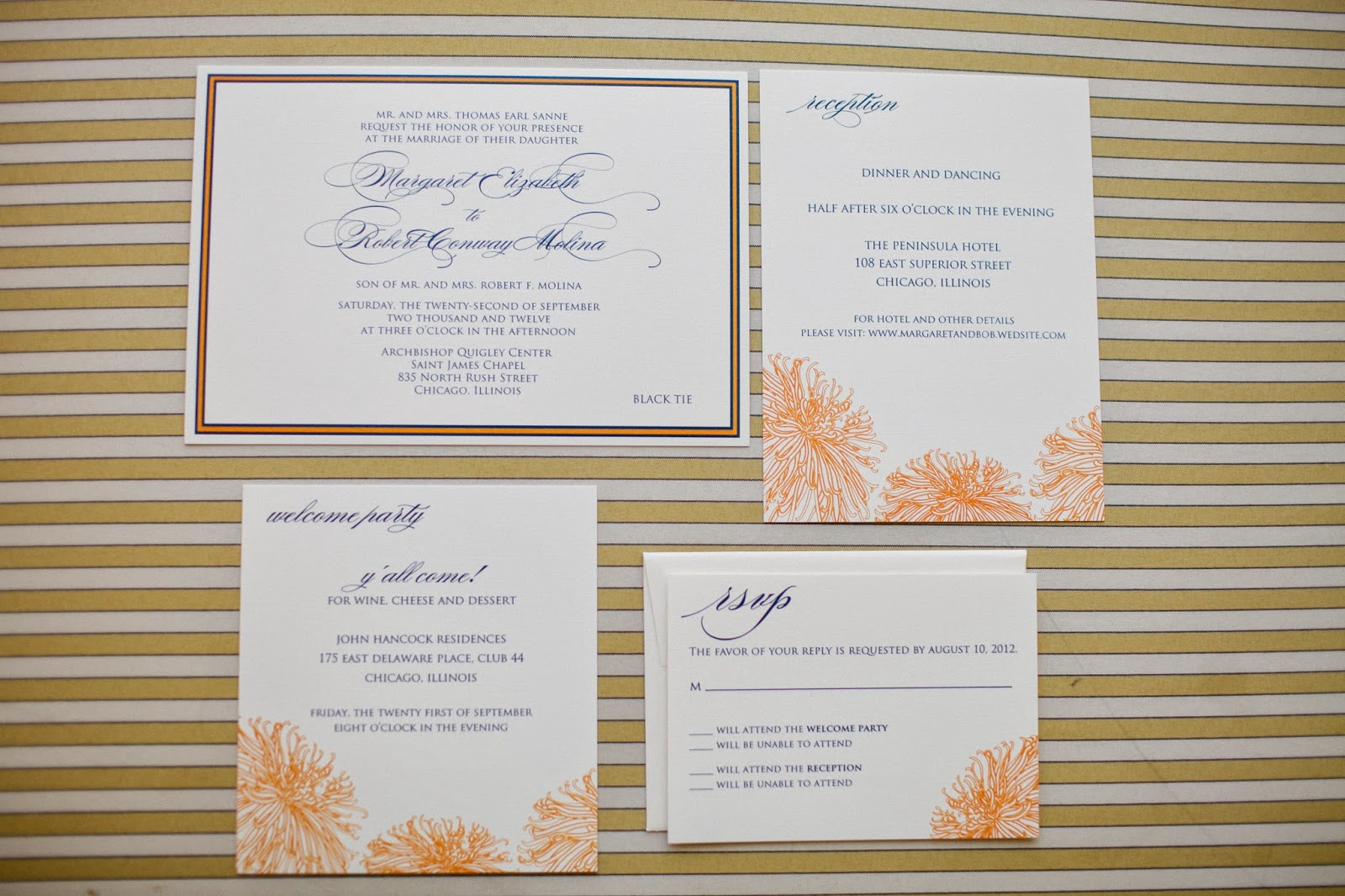 WEDology by Dejanae Events: Sample Wording for Wedding Invitations