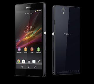 gambar hp Sony Xperia Z Android Spesifikasi dan harga