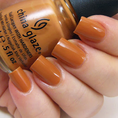 China Glaze Desert Sun swatch