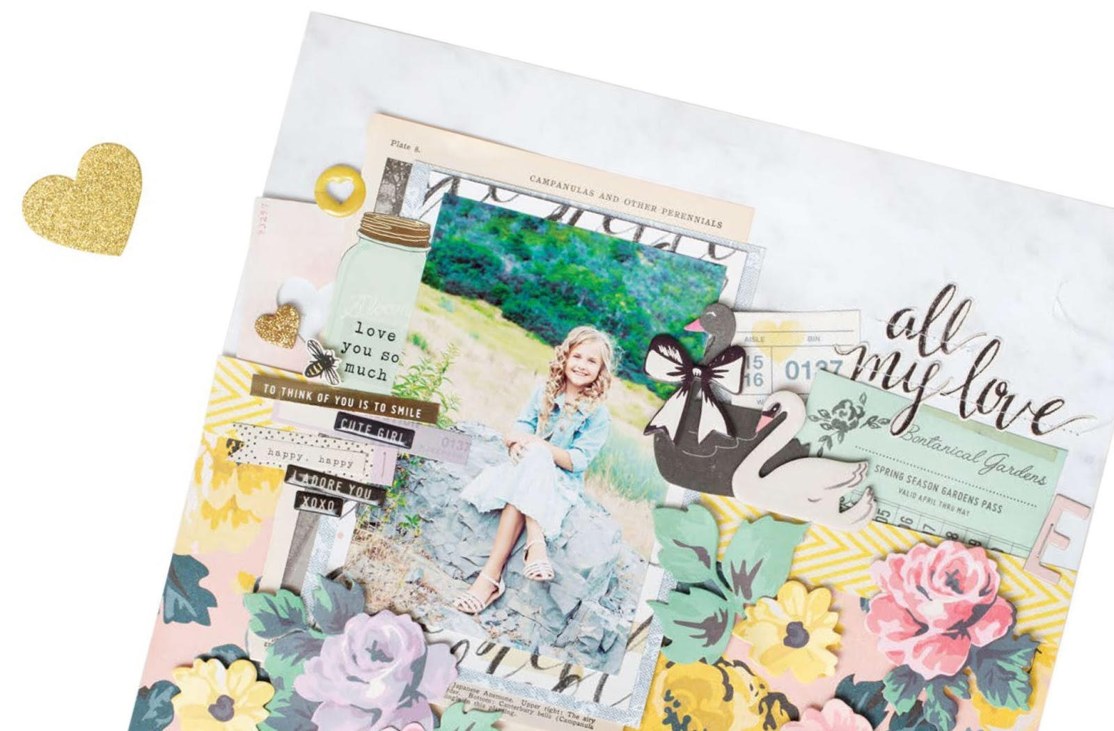 All Scrapbook Steals The Blog Crate Paper Presents Maggie Holmes