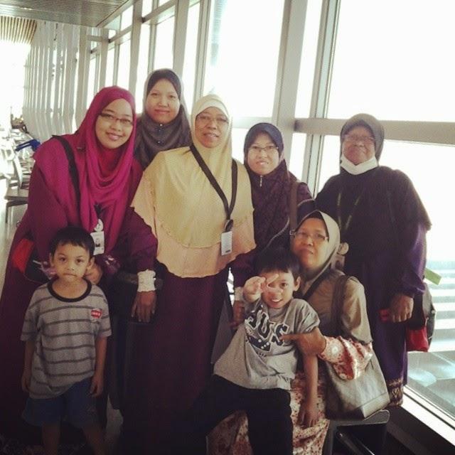 Ziarah dan Umrah, Azniza Arshad, Umrah 2014, KLIA, Mekah, Madinah