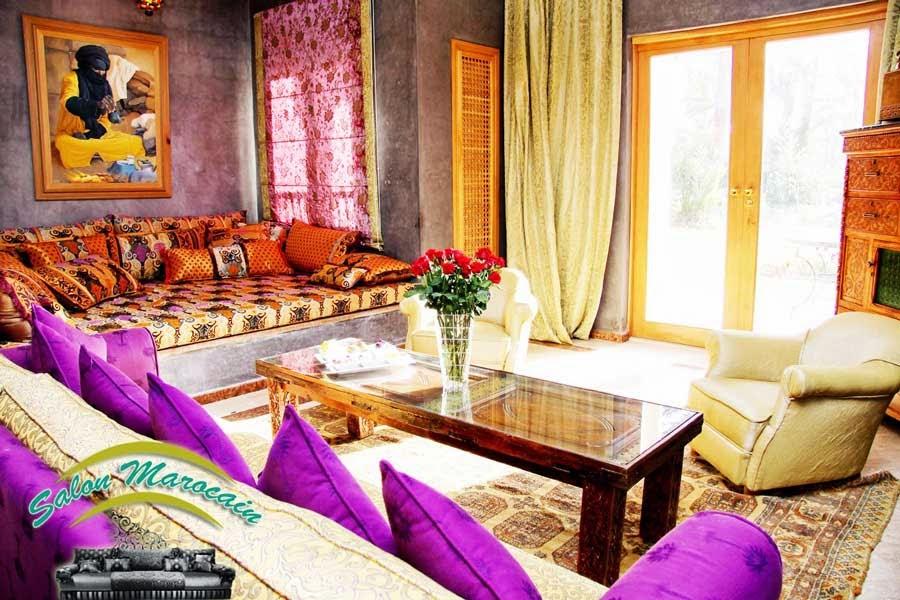 Boutique salon marocain 2016 2017 deco salon marocain for Matelas de salon marocain