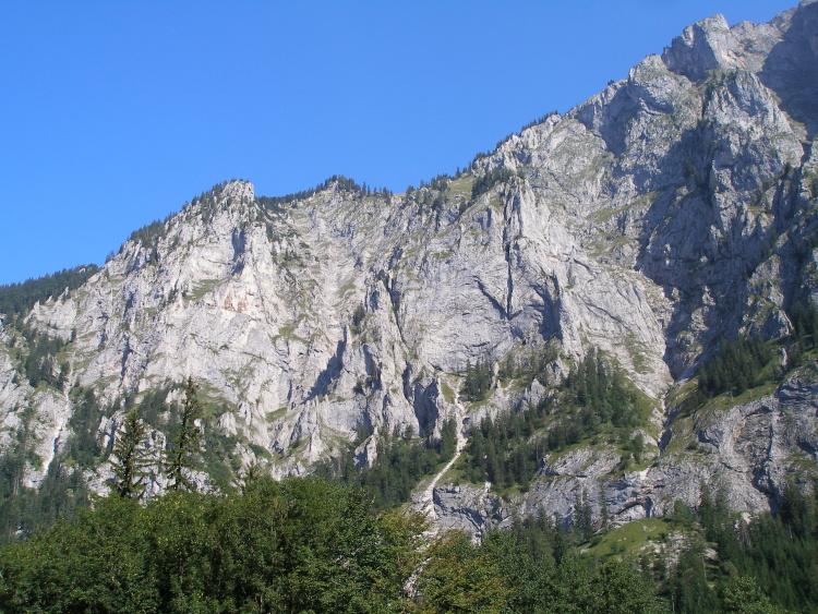 Franz Josef Klettersteig : Nejlepší ferraty: kaiser franz joseph klettersteig obtížnost d