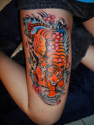 : As Thigh Tattoos Become Popular, Original Artwork is a Must