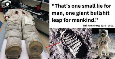 H κατάκτηση της Σελήνης – Ένα μεγάλo ψέμα για την ανθρωπότητα