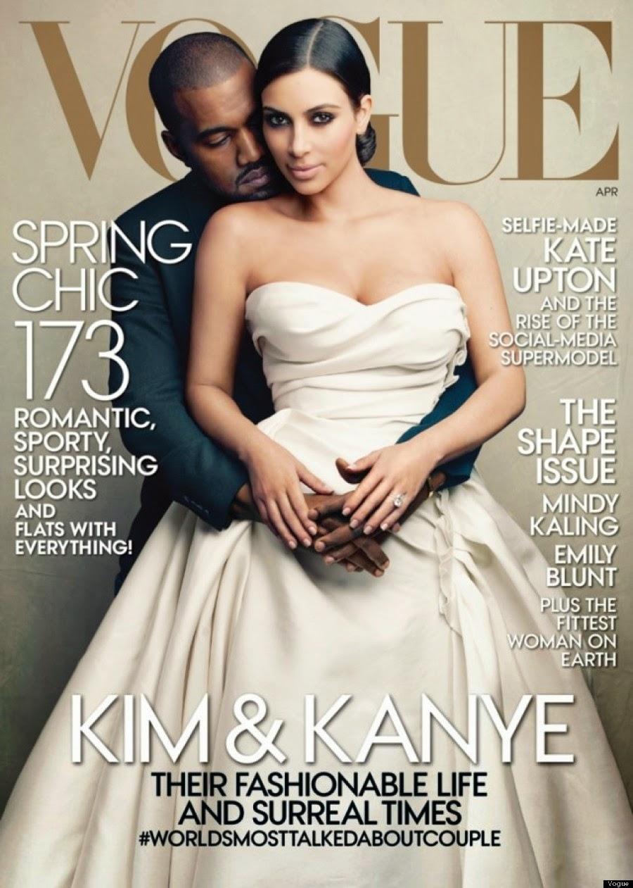 Kim Kardashian, Kanye, Kimye, Vogue, Whorrified, Anna Wintour,