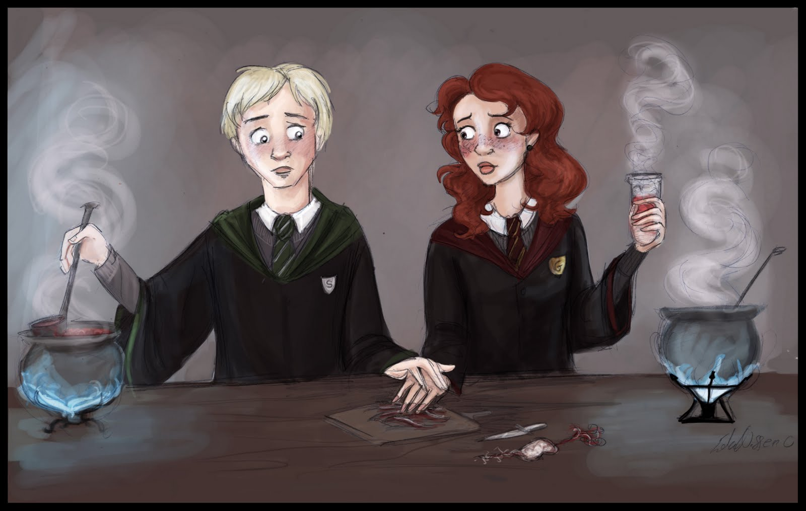 kreepy kring: Mama Do (fanfiction) Rose Weasley and Scorpius Malfoy