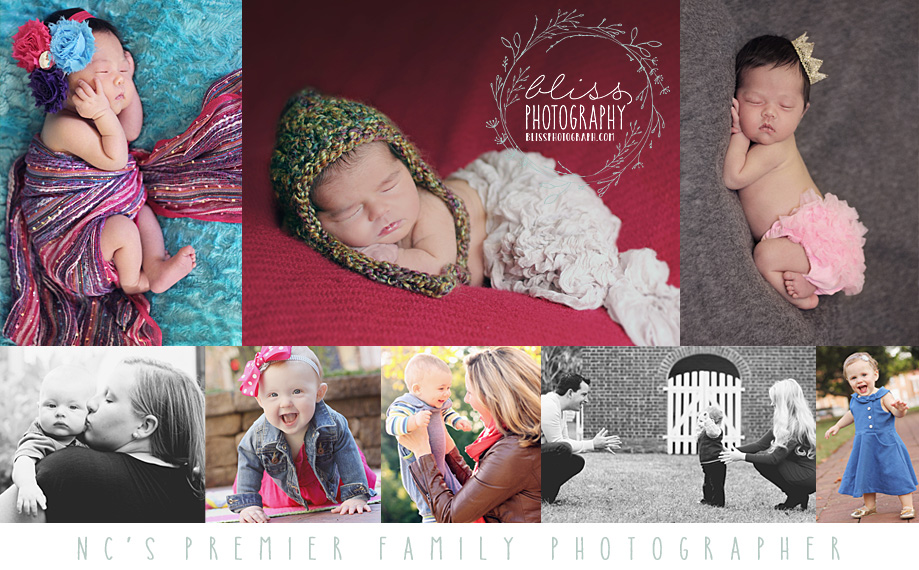 Bliss Photography - NC Portrait Photographer - Maternity, Newborn, Baby, Child, and Family