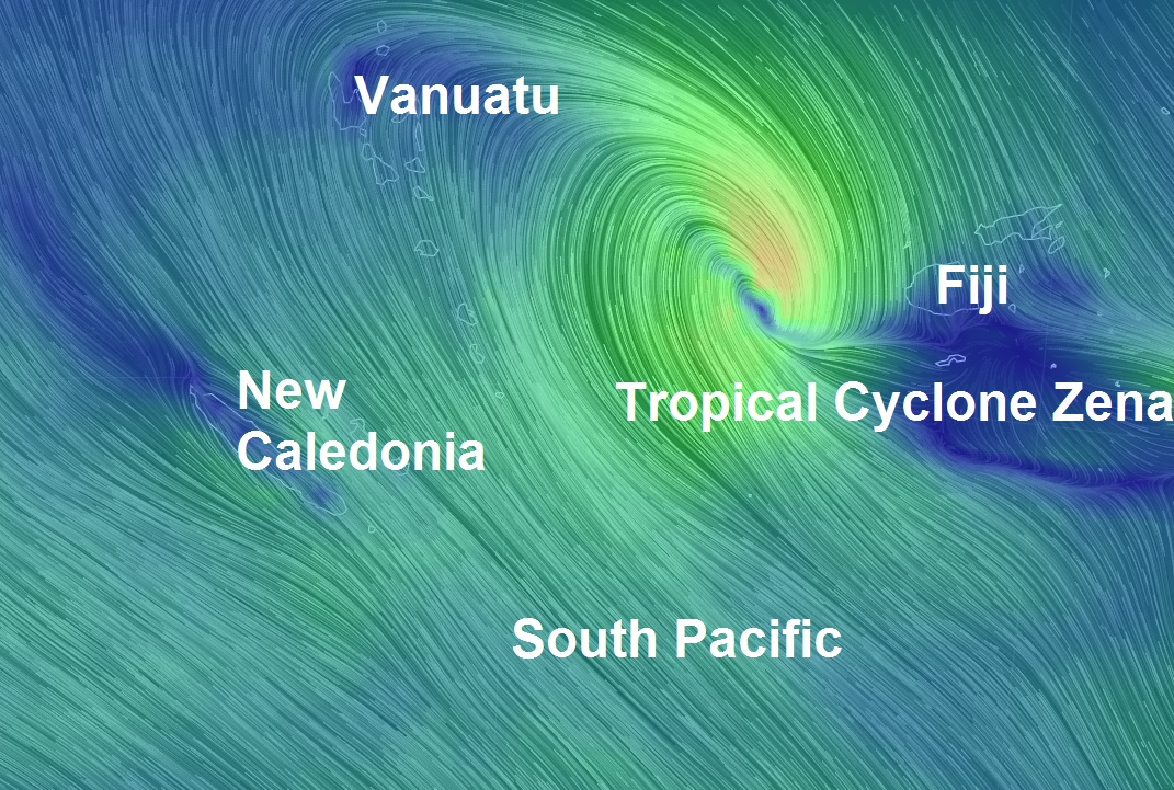 "Fiji braces for ""catastrophic flooding"" one month after the country was hit by Cyclone Winston..."