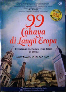 novel 99 cahaya di langit eropa