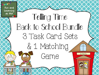 https://www.teacherspayteachers.com/Product/Back-to-School-Themed-Telling-Time-Bundle-1868157