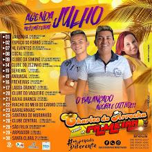 AGENDA MÊS DE JULHO DE CHARLES DO ARROCHA E FORRÓ DE PRIMEIRA!!!