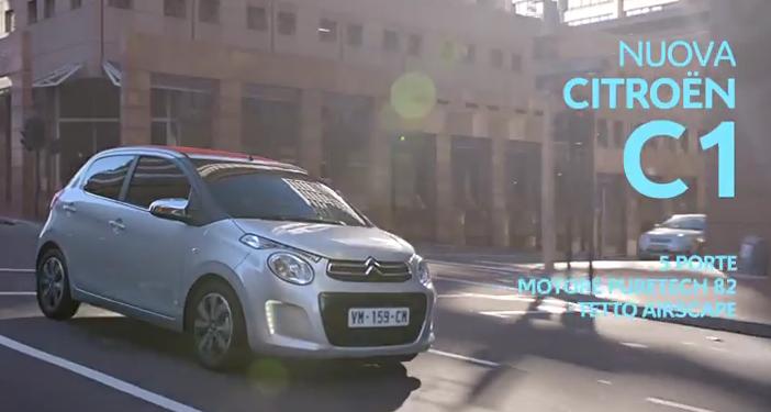 Canzone pubblicità nuova Citroen C1 Aprile 2015