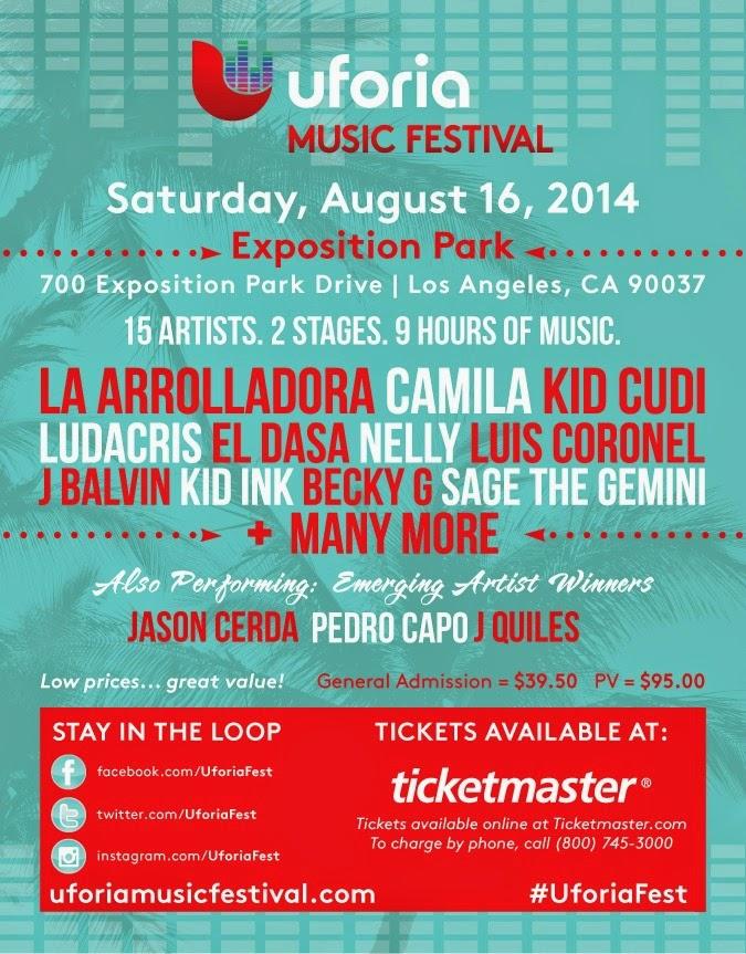 Uforia Musical Festival Performers // #UforiaFest
