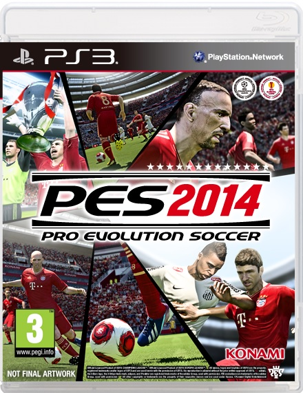 Pro Evolution Soccer PES 2014 PC, Xbox 360, Playstation 3