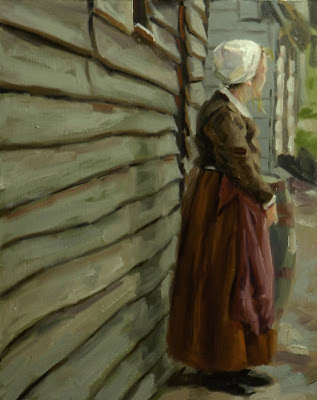 Best Sketche oil paintings, Plimoth Watch by Christopher Greco