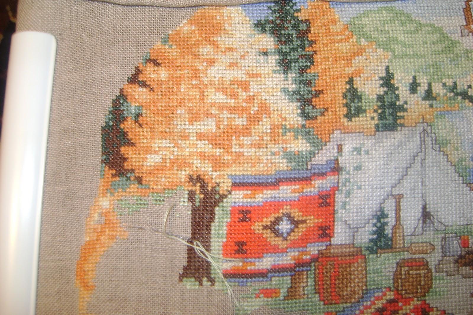 Набор для вышивания крестом Золотое Руно ЛП-052 23